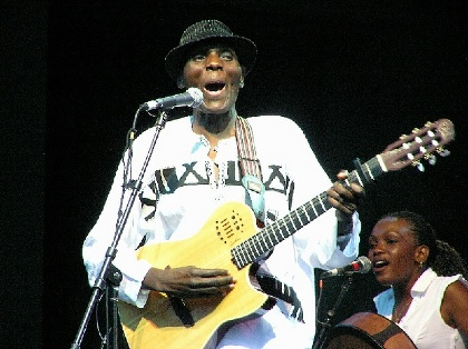 20 YEARS OF WOMEX * Oliver Mtukudzi at WOMEX 1998
