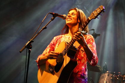 20 YEARS OF WOMEX * Souad Massi at WOMEX 2001