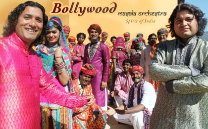 Bollywood Masala Orchestra - Spirit of India Touring in Europe 2014