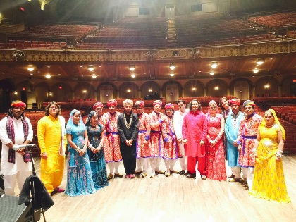 Bollywood Masala Orchestra - India Touring in USA&Canada