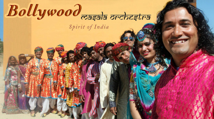 Bollywood Masala Orchestra - India will be Playing Swiss, France,Belgium