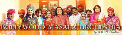 Bollywood Masala Orchestra Touring in Europe May to Sept 2015