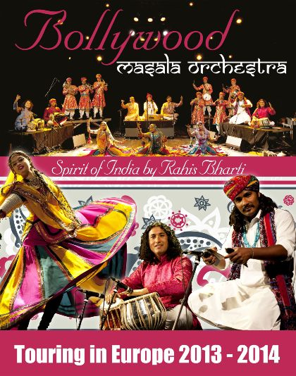 Bollywood Masala Orchestra - Spirit of India Touring in Europe 2013
