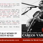 Carlos Varela and His Band Available for Booking Now