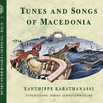 CD cover, Songs of Macedonia, Greece