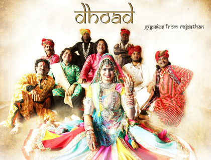 DHOAD Gypsies From Rajasthan Touring in Europe 2015/2016