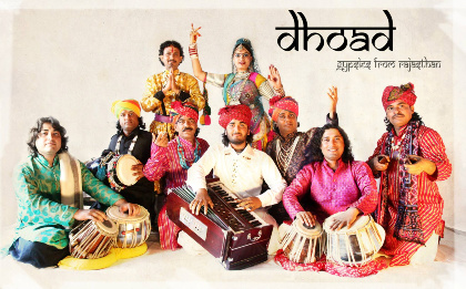 Dhoad Gypsies From Rajasthan Touring in Europe 2015
