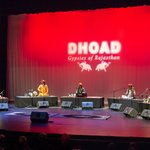 Dhoad Gypsies of Rajasthan photos during USA Tour in October 2018