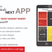 Download Your Classical:NEXT 19 App Here!