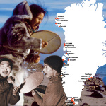 Traditional Greenlandic Music Vol. 1 - 5 cover