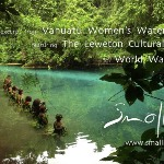 In celebration of water, The Vanuatu Water Women.