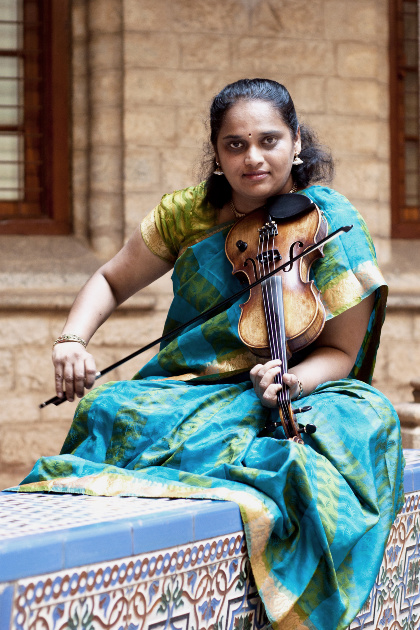 Indianviolin collaboration with Western classical musicians/orchestras