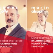 James Jolly in conversation with Marin Alsop