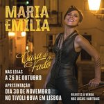 MARIA EMÍLIA first Album released the 26th October