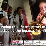 """Music bridging communities in post conflict environments"""