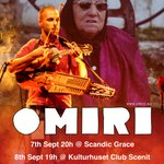 OMIRI selected for Live at Heart Showcase in Sweden