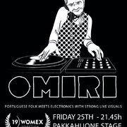 OMIRI will be playing at WOMEX at the Pakkahoune stage, tomorrow friday 25.
