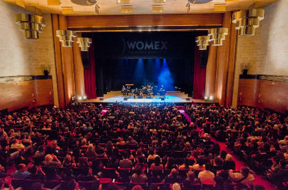 WOMEX 14 Opening Concert - Compostela - The Roots, The Way