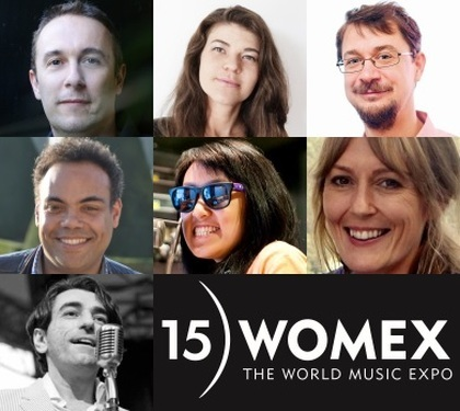 WOMEX 15 - Showcase and Conference Jury Revealed