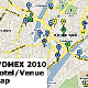 WOMEX 2010 Hotel Map