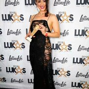 Angelica López in lukas awards