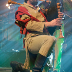 Auli Latvian bagpipe and drum