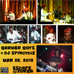 Promo poster - Barmer Boys with DJ Spin-Cycle