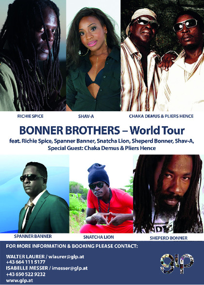 Bonner Brothers - World Tour