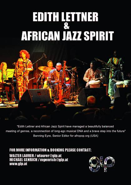 Edith Lettner & African Jazz Spirit