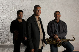 Jack DeJohnette Trio feat Ravi Coltrane and Matt Garrison