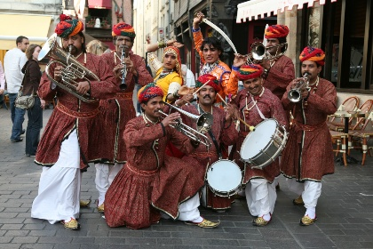 Jaipur Maharaja Brass Band Touring in Europe May to Nov 2014