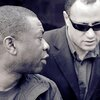Moncef with Youssou