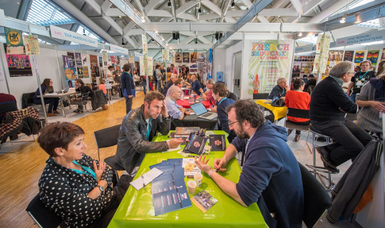 WOMEX 15 Trade Fair, by Yannis Psathas