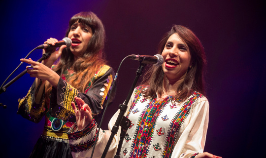 A-Wa live at WOMEX 15, by Jacob Crawfurd