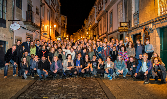 WOMEX 15 Team in Budapest, by Yannis Psathas