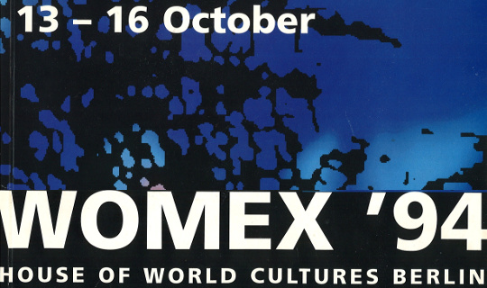 WOMEX '94 – our first edition!
