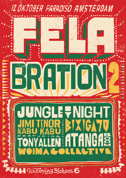 Felabration 2 - A Tribute to the life and music of Fela Kuti - WOMEX