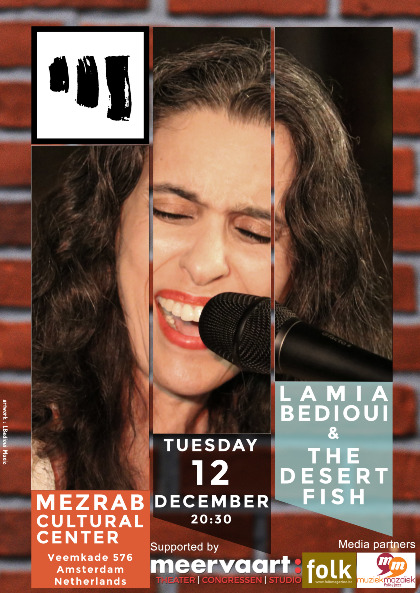 Lamia Bedioui & The Desert Fish (live) at Mezrab - Lamia Bedioui & The Desert Fish (live) at Mezrab
