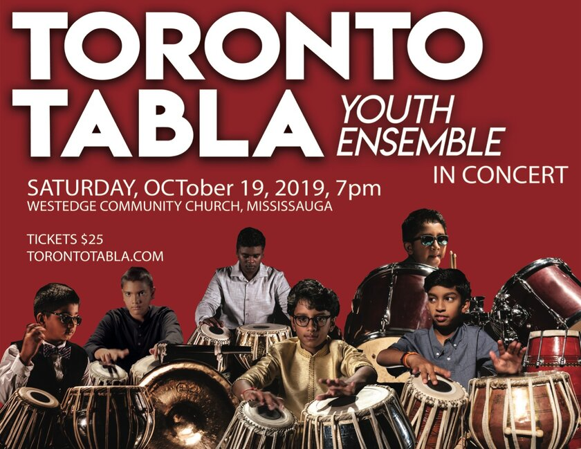Toronto Tabla Youth Ensemble - Toronto Tabla Youth Ensemble in concert