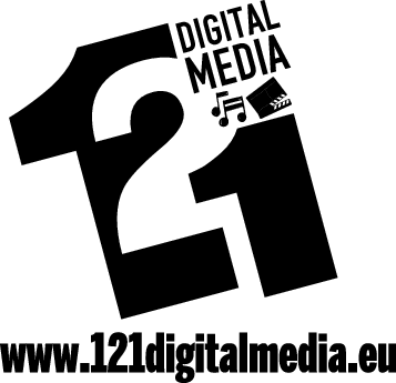 121 DIGITAL MEDIA Logo
