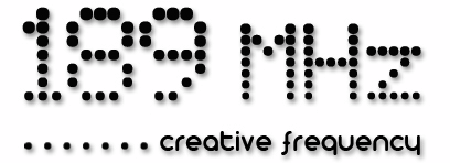 189 MHz _ Creative Frequency Logo