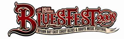 East Coast Blues & Roots Music Festival Logo