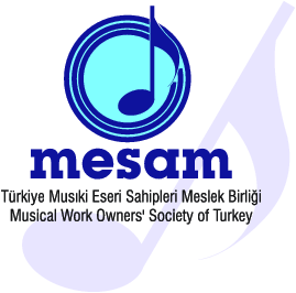 MESAM (Musical Work Owners' Society of Turkey) Logo