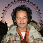 Dj Tudo in front of London Eye