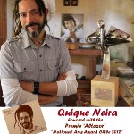 Quique Neira - album ALMA honoured with the National Arts Award /Chile 2012