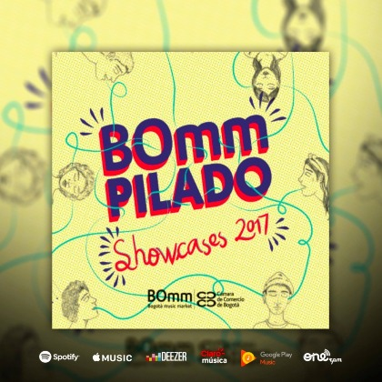 BOmmpilado 2017 - Various Artists (Showcases BOmm 2017)
