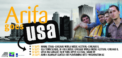 Arifa - USA debut tour Sept '13